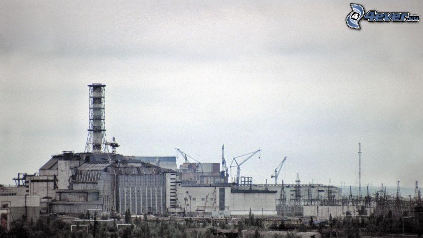 planta de energía nuclear, Chernobyl