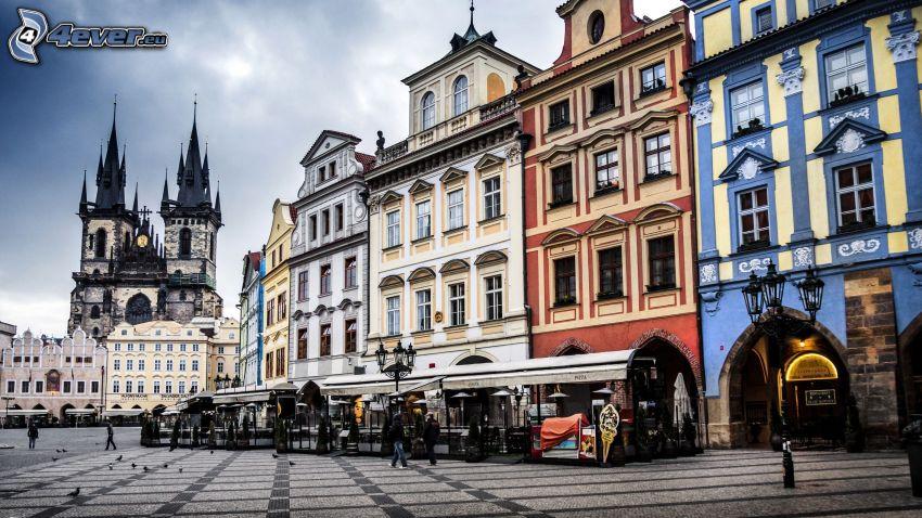 Praga, calle