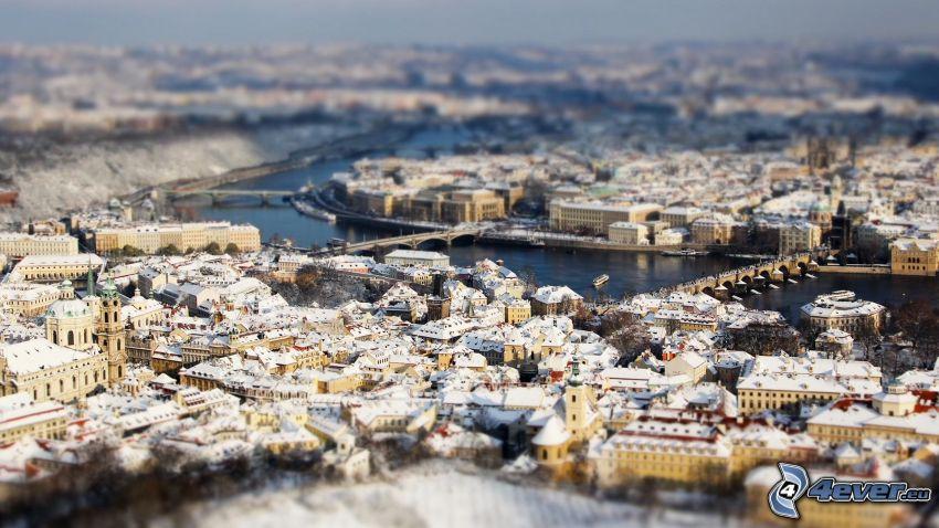 Praga, diorama