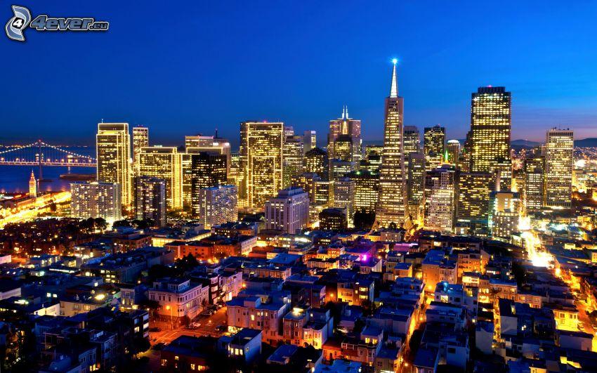 San Francisco, ciudad de noche