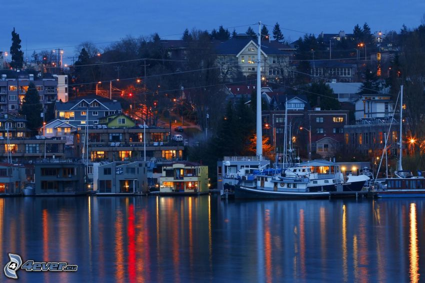 Seattle, lago