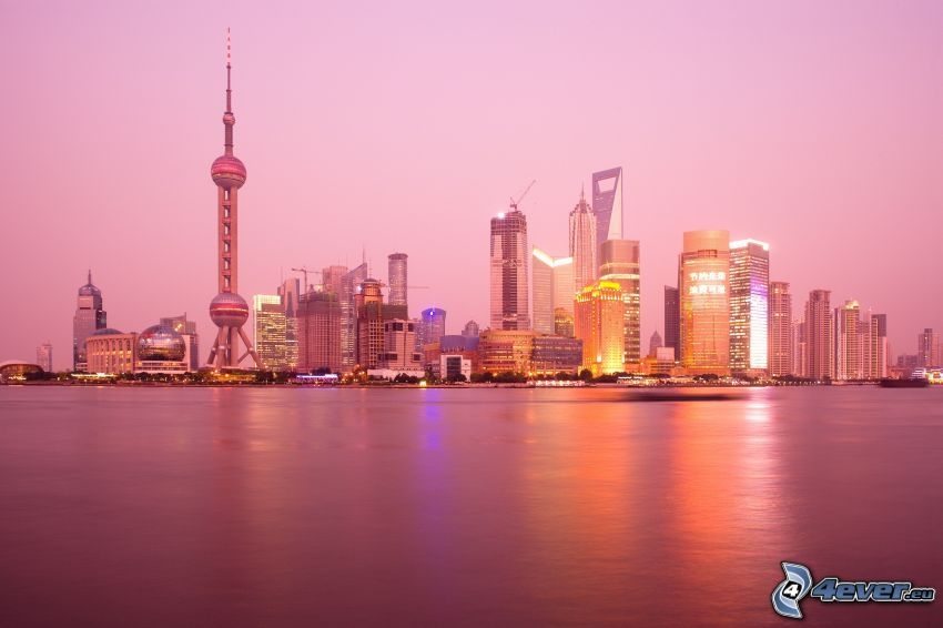 Shanghái, rascacielos