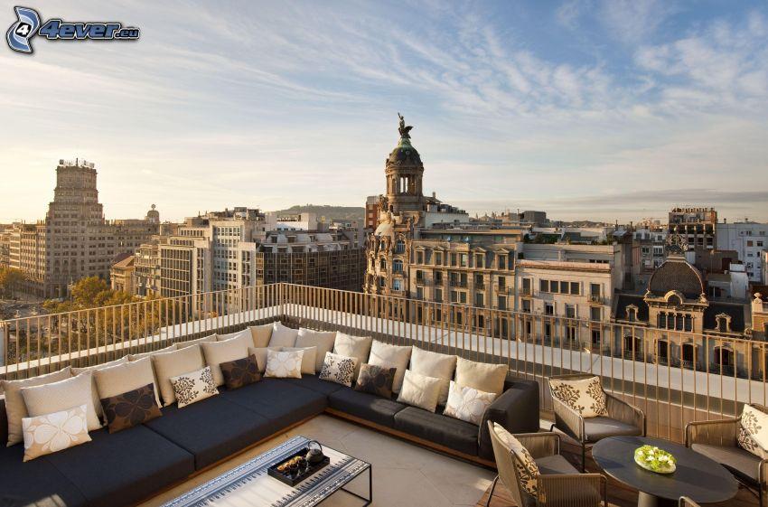 terraza, Barcelona