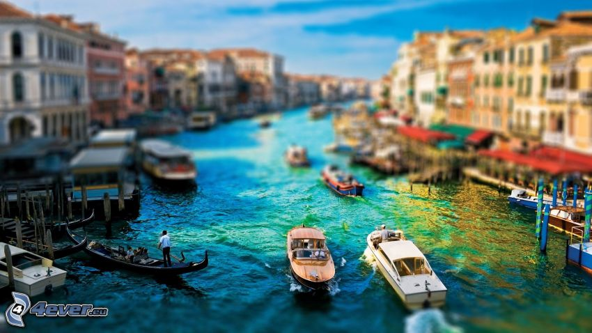Venecia, diorama