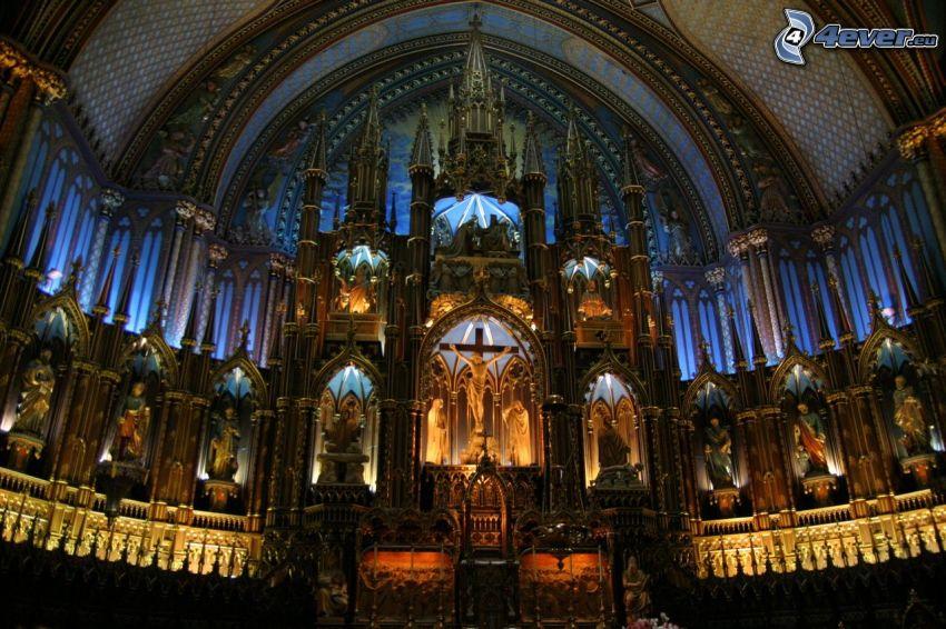 Basilica of Notre-Dame de Fourvière, altar