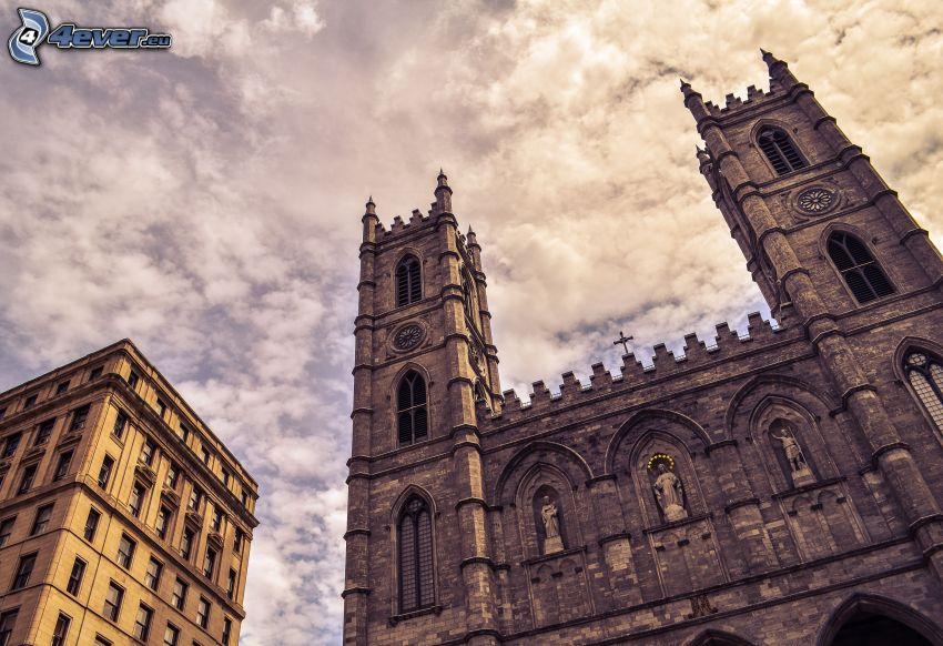 Basilica of Notre-Dame de Fourvière, nubes