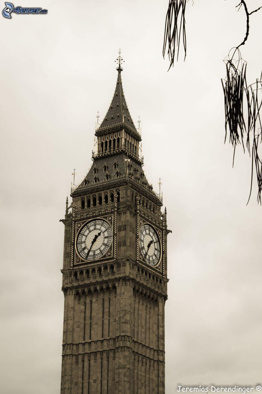 Big Ben, tiempo, Londres