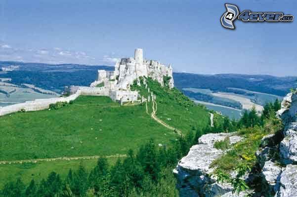 castillo, naturaleza