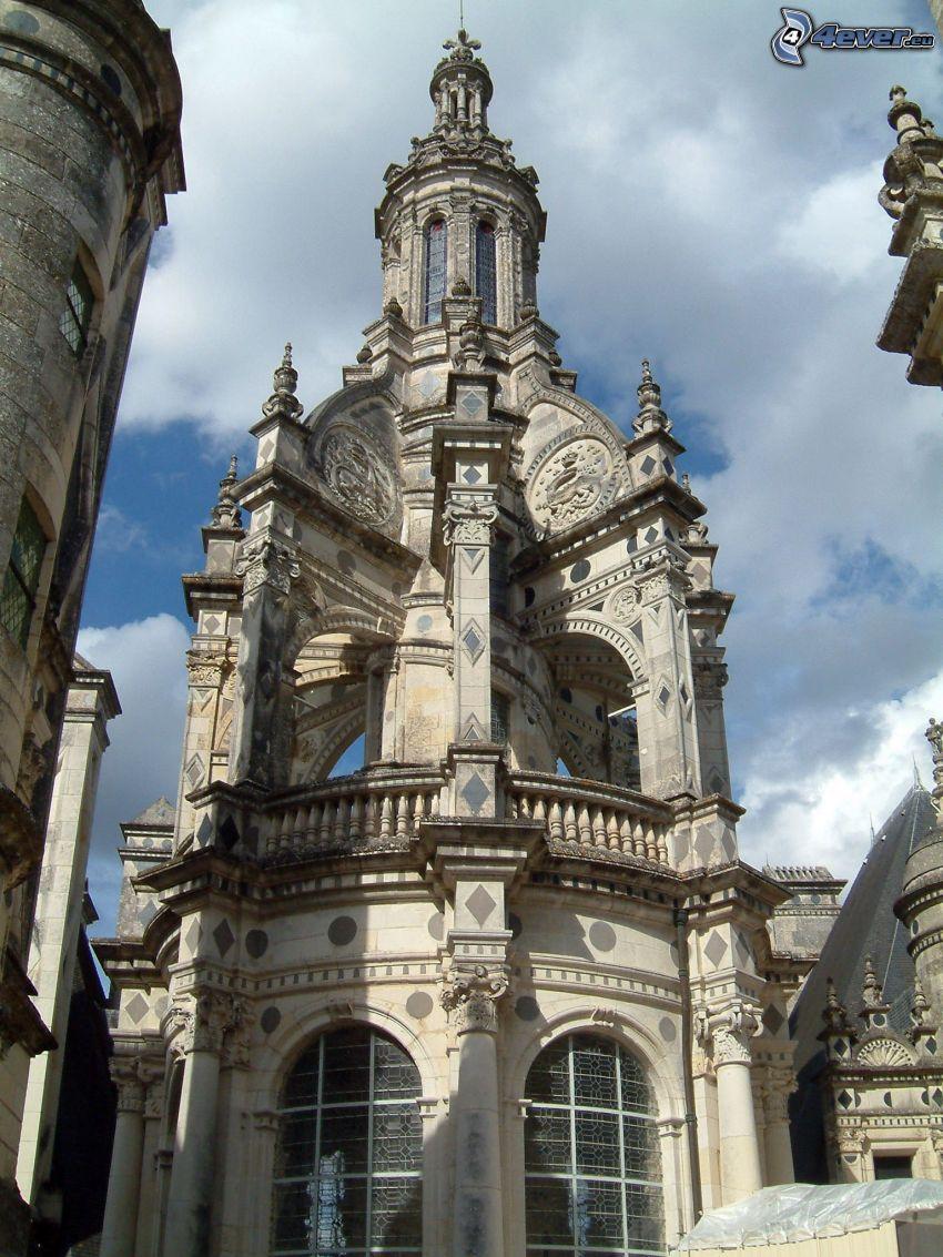 Castillo de Chambord, cubierta