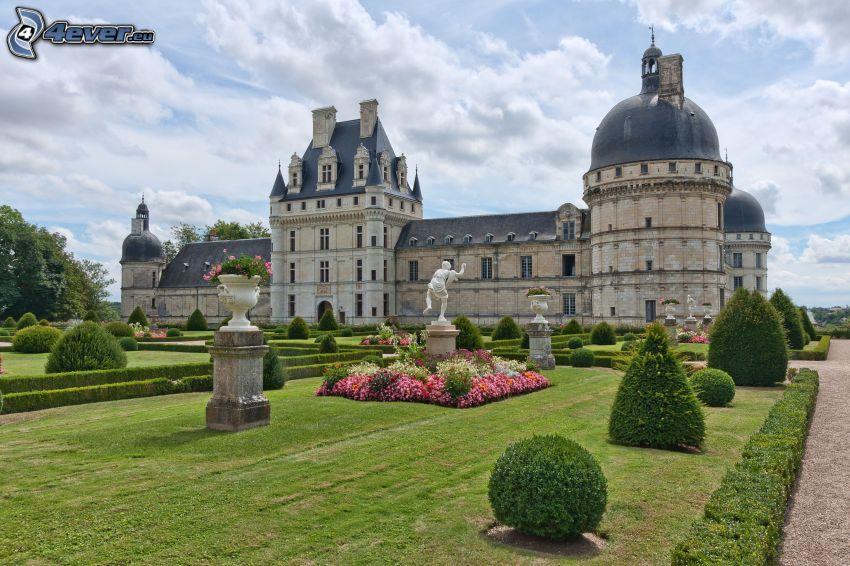 castillo de Valençay, Francia