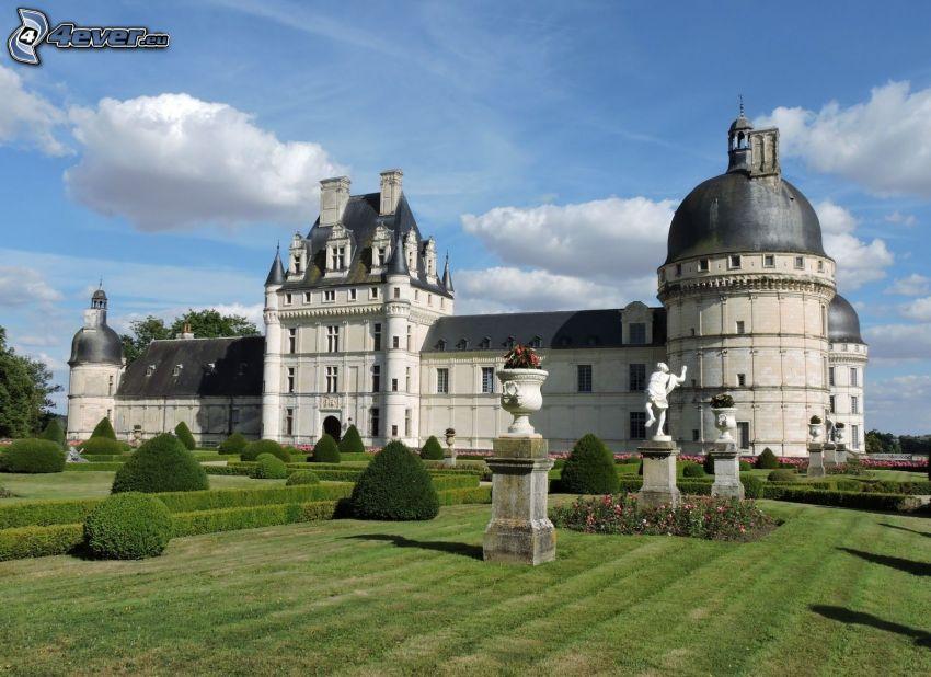 castillo de Valençay, jardín