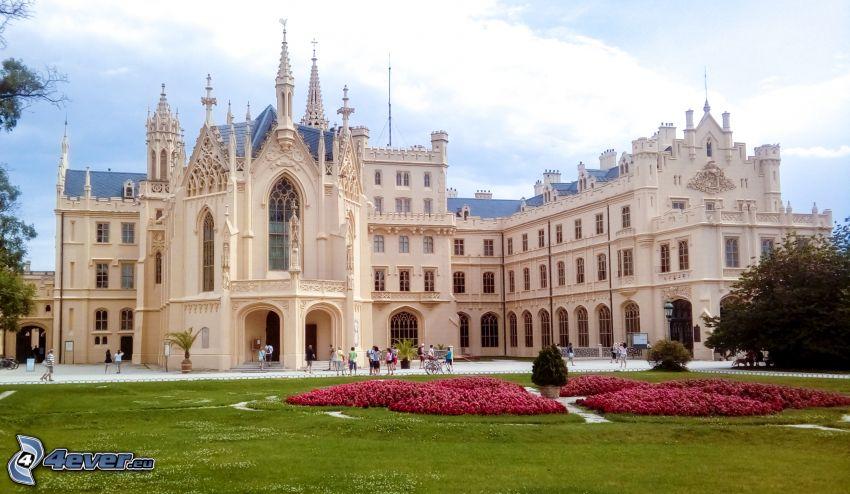 Castillo Lednice, jardín