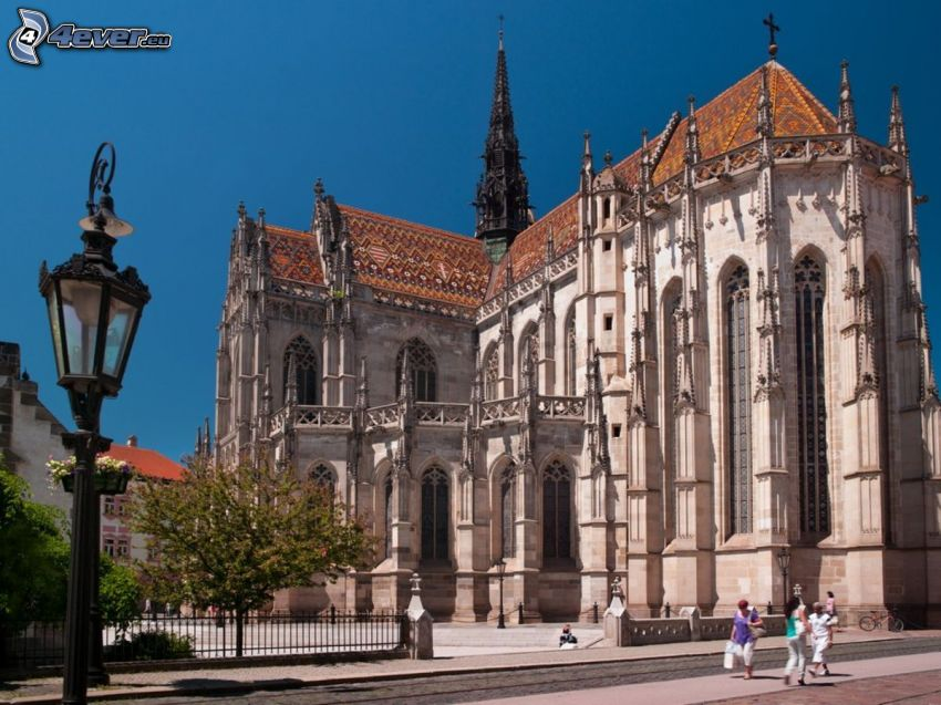 Catedral de Košice, lámpara de calle