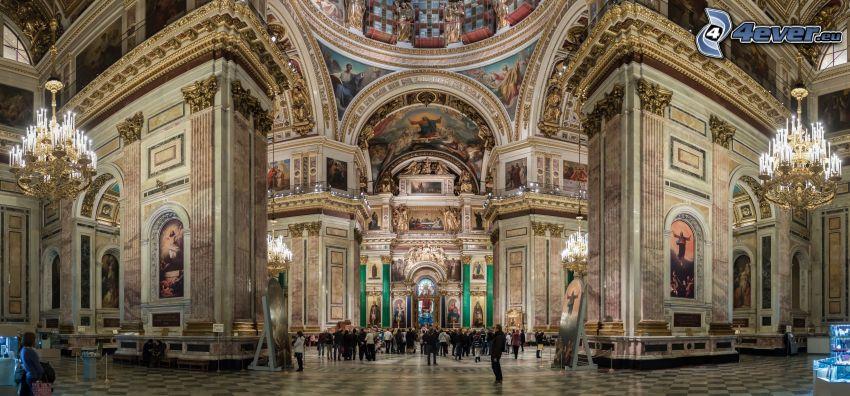 Catedral de San Isaac, interior, bóveda