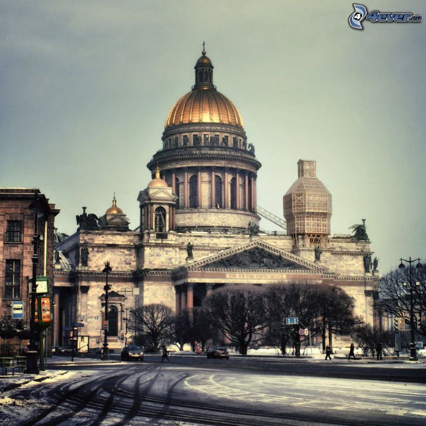 Catedral de San Isaac, Petersburgo, camino