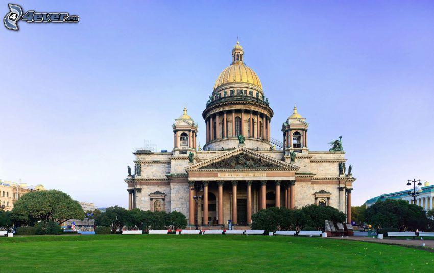 Catedral de San Isaac, Petersburgo, parque