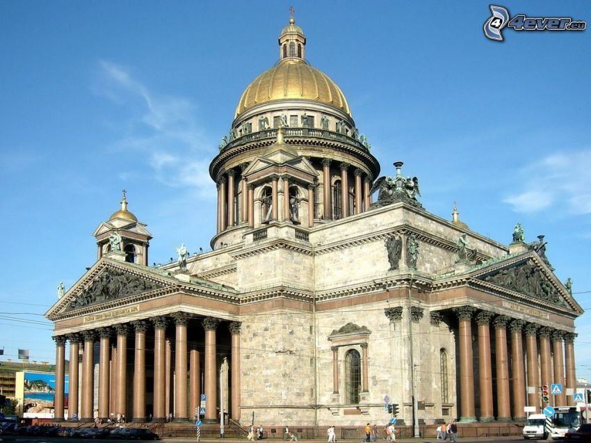 Catedral de San Isaac, Petersburgo