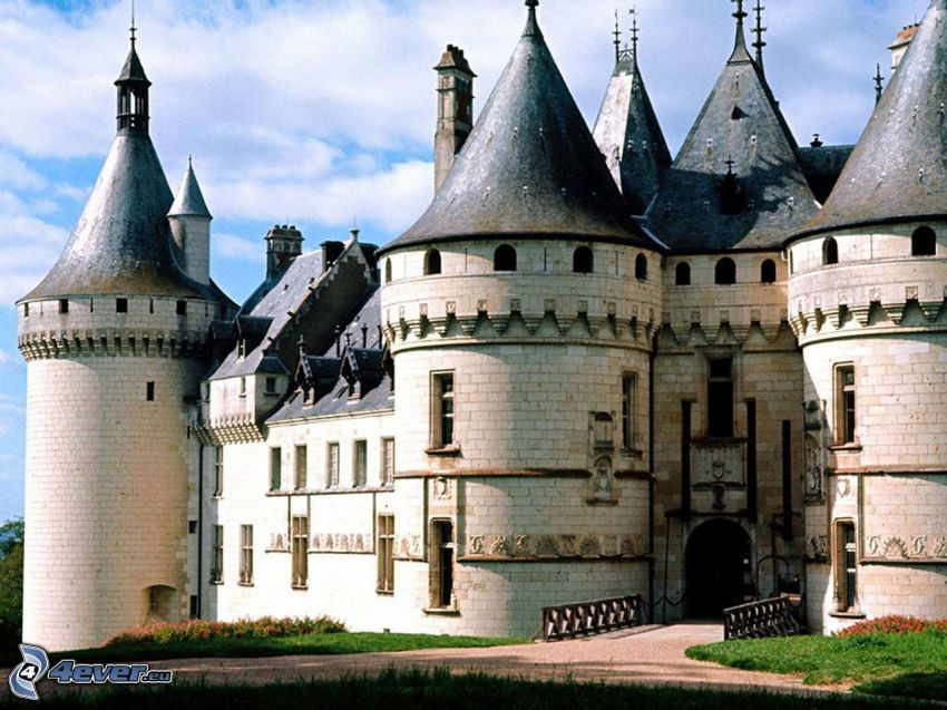 Château de Chaumont, castillo, Francia