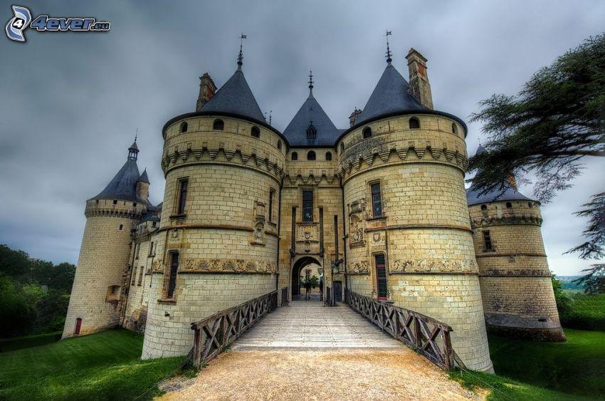 Château de Chaumont, puerta