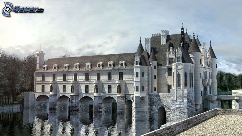 Château de Chenonceau, río