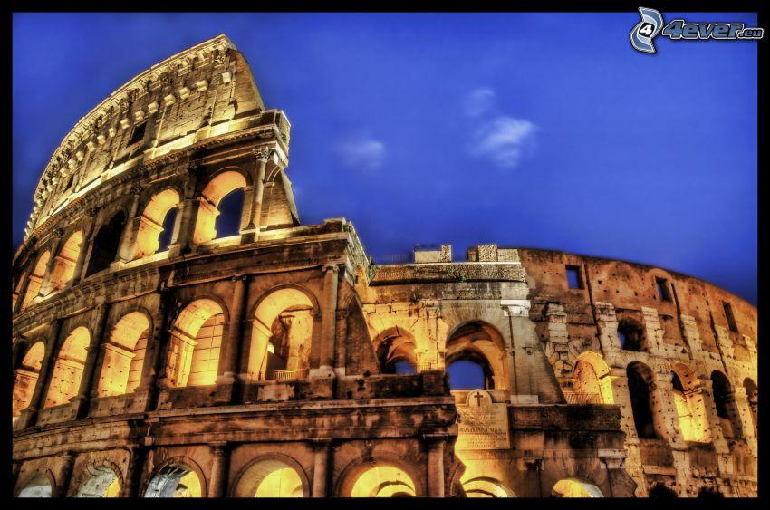Coliseo, HDR