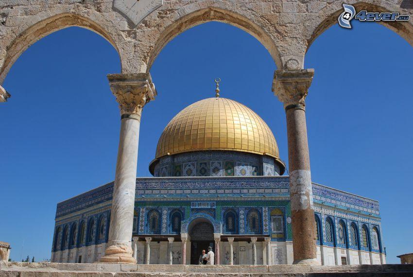 Dome of the Rock, bóveda, Jerusalén