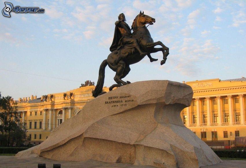 estatua, roca
