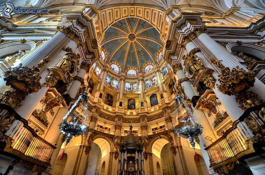 Granada Cathedral, bóveda