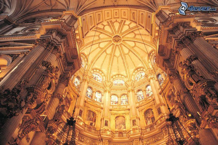 Granada Cathedral, techo, bóveda