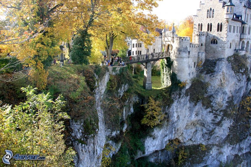 Lichtenstein Castle, rocas