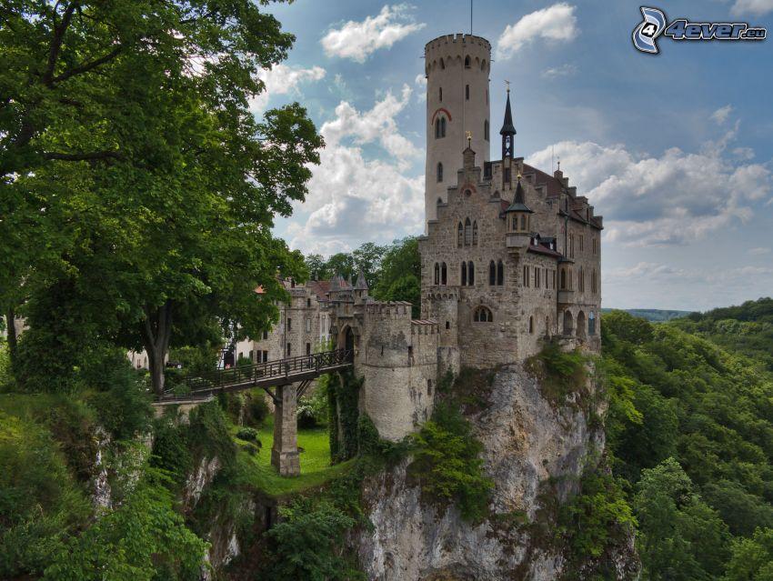 Lichtenstein Castle, verde