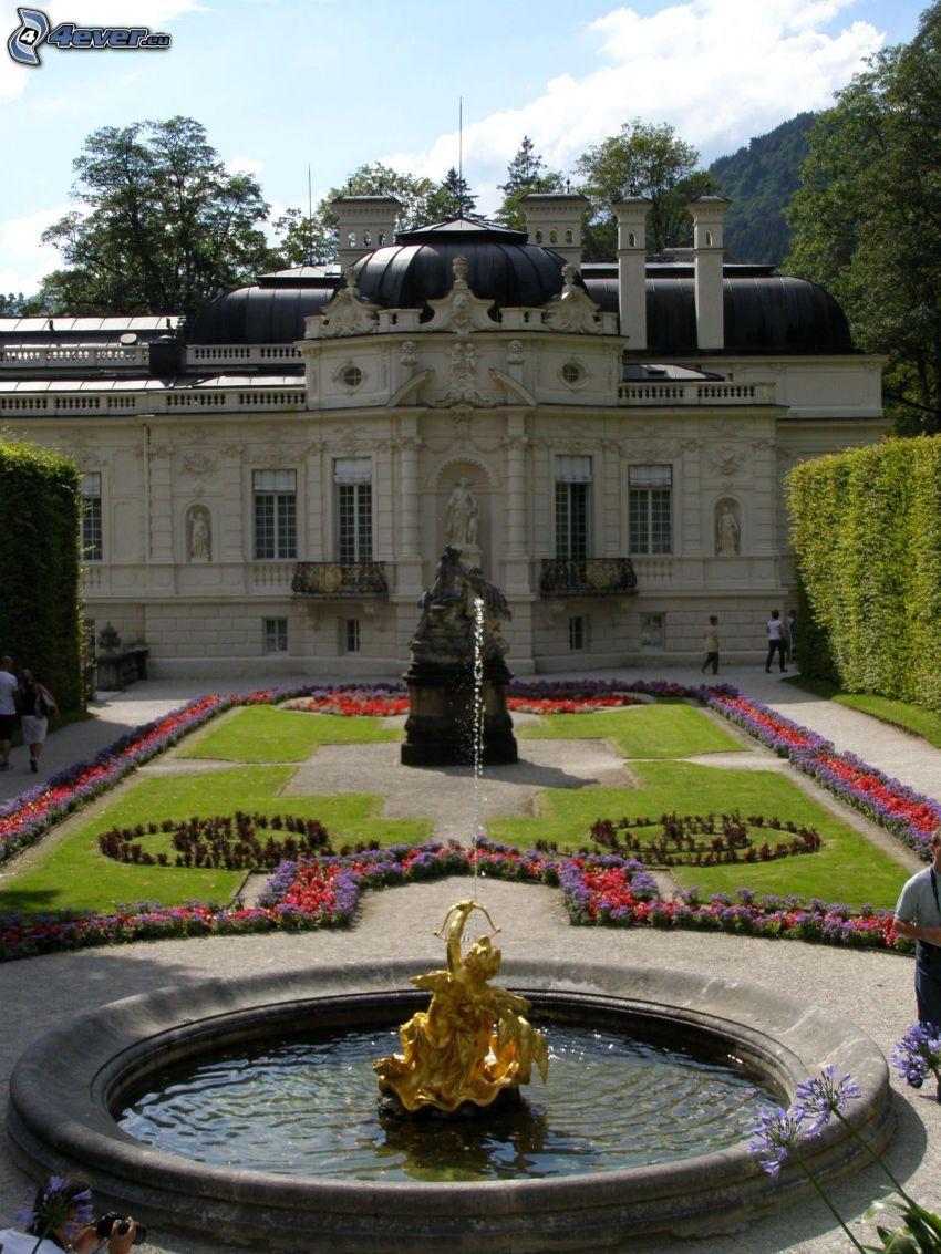 Linderhof, castillo en Baviera