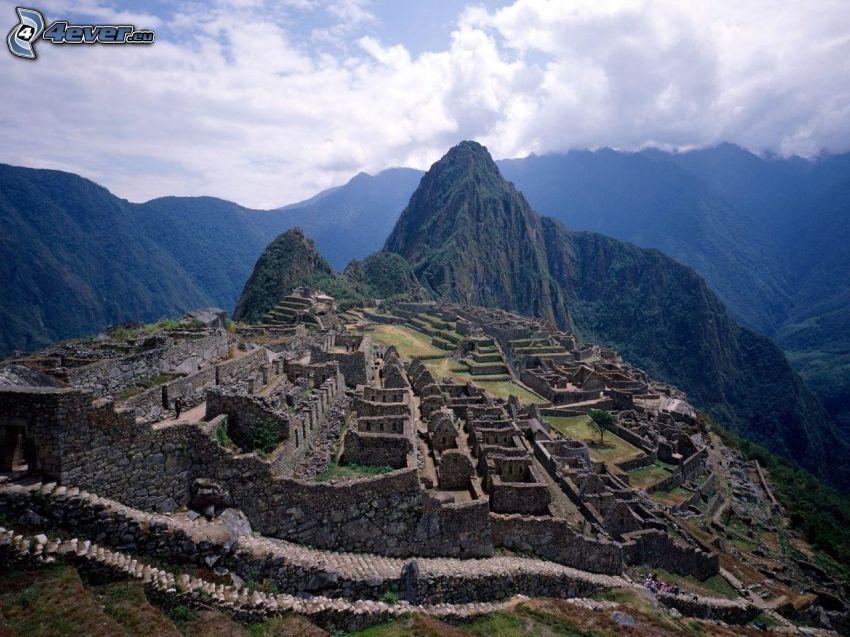 Machu Piccu, montañas
