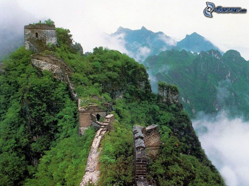 Murralla de China, montañas