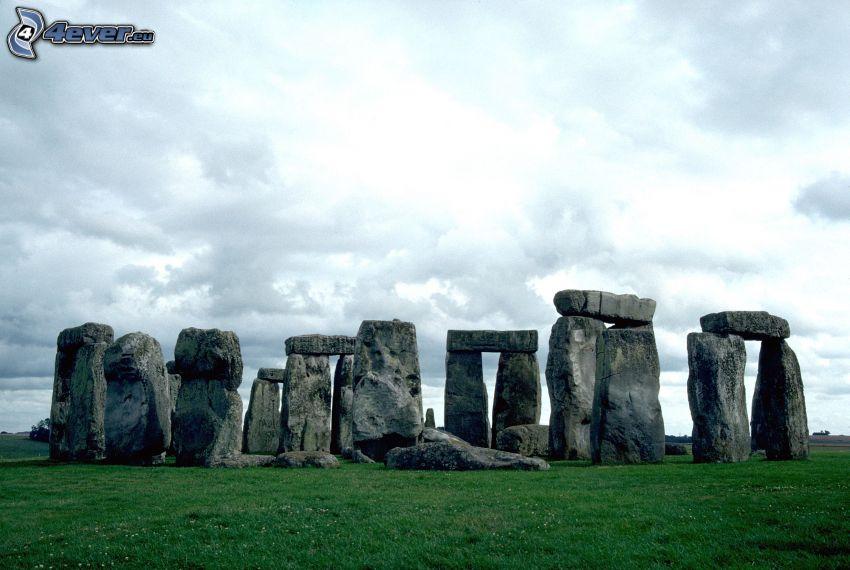 Stonehenge, nubes