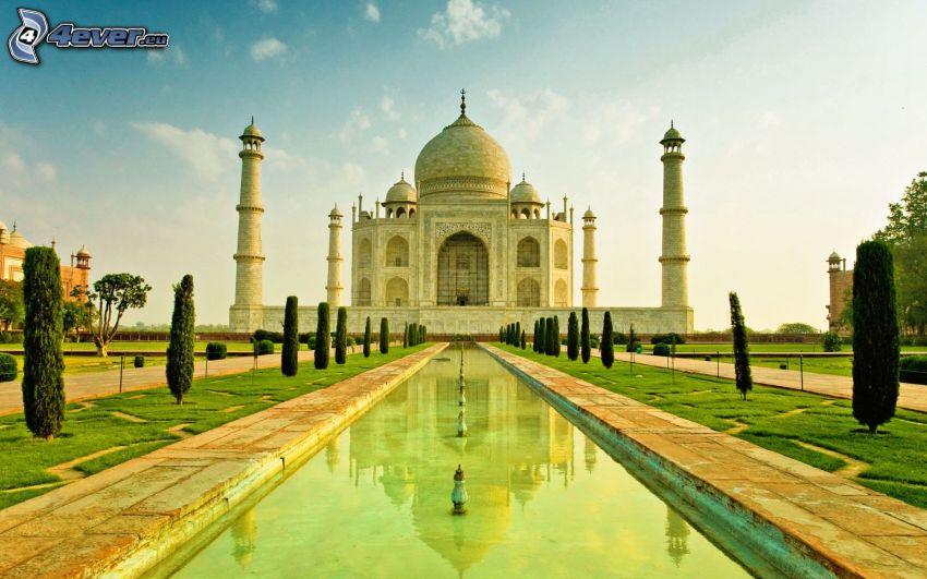 Taj Mahal, parque