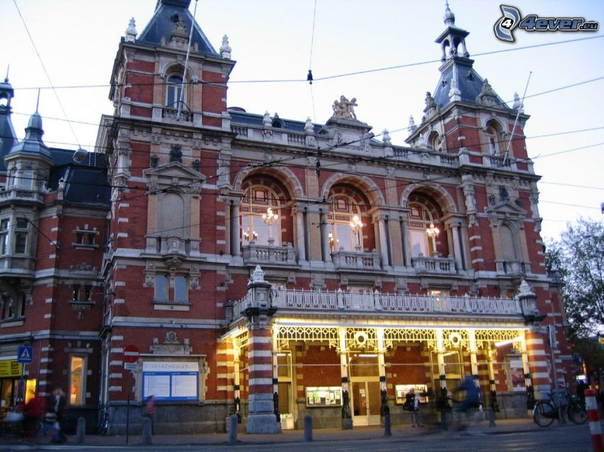 teatro, Amsterdam, edificio histórico