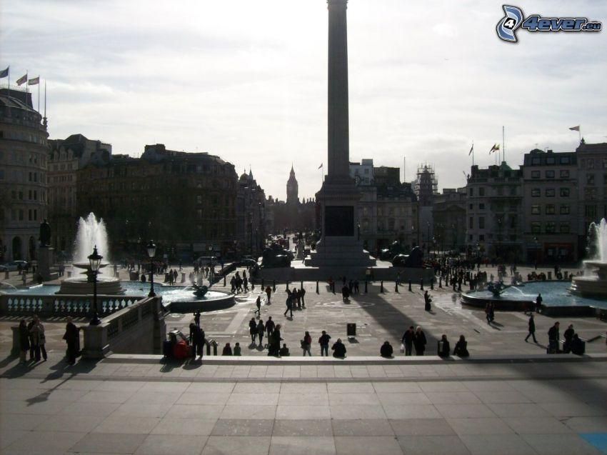 Trafalgar Square, Londres, plaza