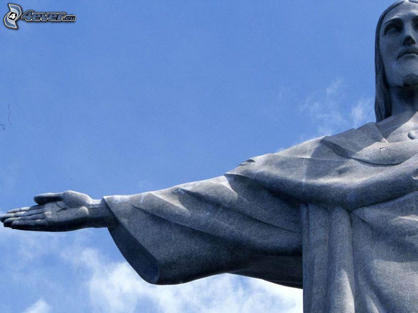 Jesús, en Río de Janeiro, estatua