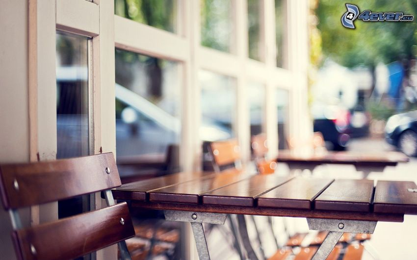 mesa, silla