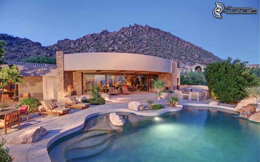 Casa de Lujo, piscina