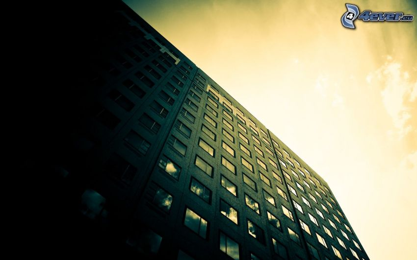 casa prefabricada, edificio, ventanas