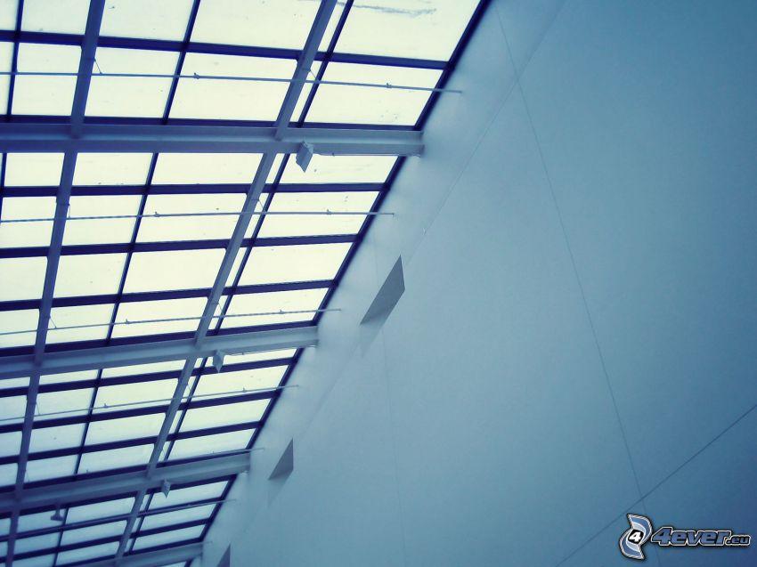edificio, ventanas