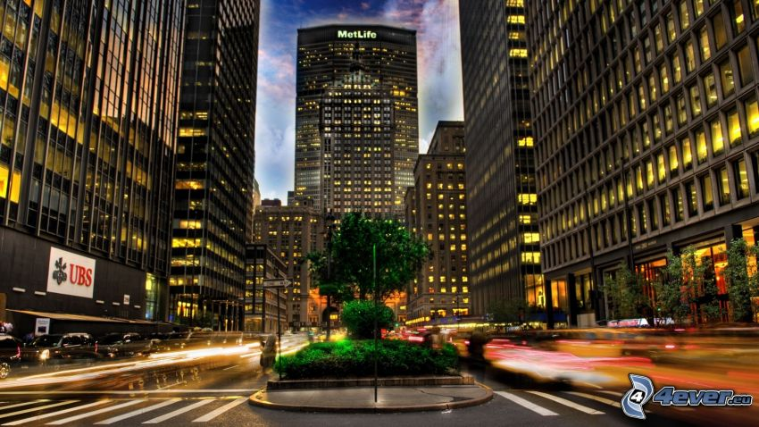 Park Avenue, New York, HDR