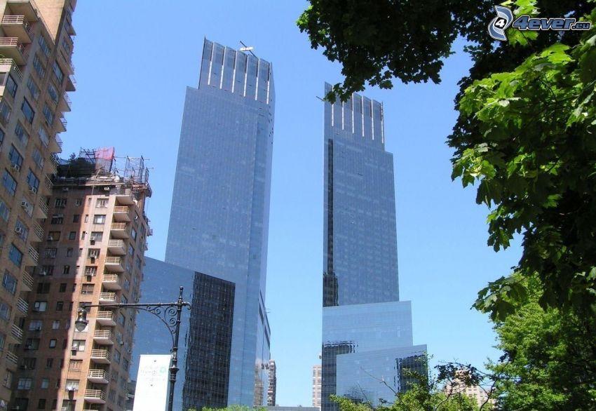 rascacielos, New York