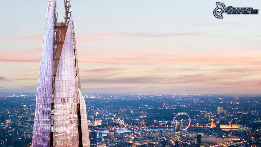 The Shard, Londres, London Eye