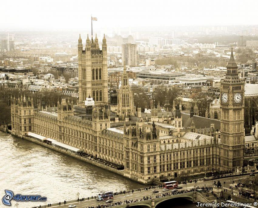 Palacio de Westminster, Parlamento británico, Londres