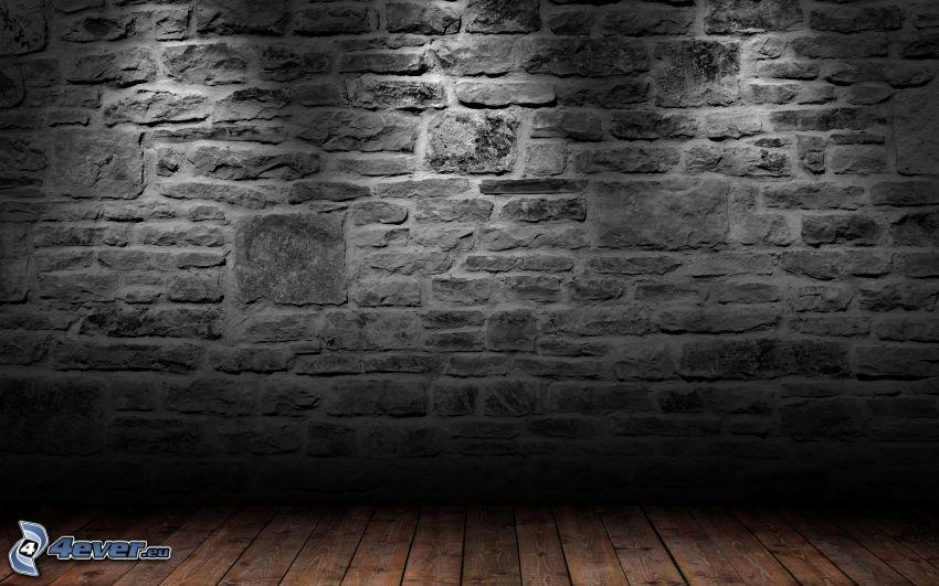 pared, tabla de entarimado, habitación