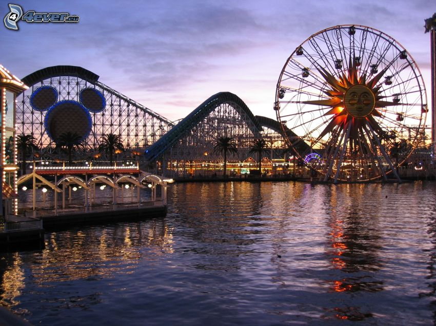 Disney's California Adventure, parque de atracciones, Los Angeles