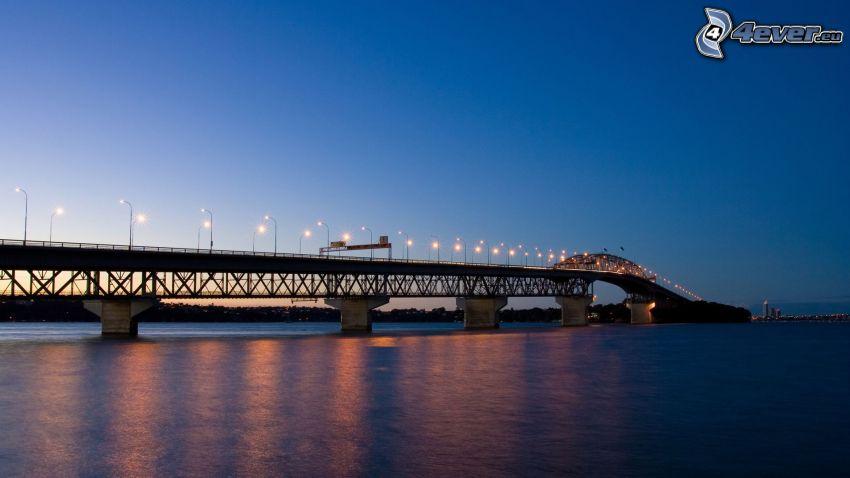 Auckland Harbour Bridge, Nueva Zelanda